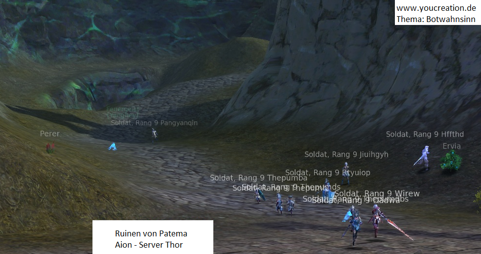 Botwahnsinn in Aion Free To Play